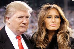 image of donald and melania trump - small business lessons learned from donald trump